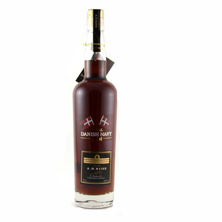 A.H. Riise Royal Danish Navy Rum 40%