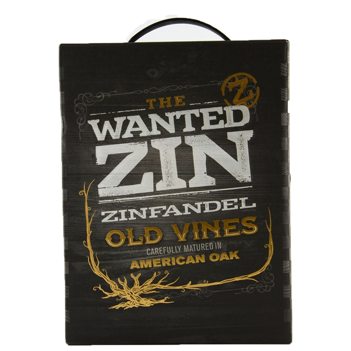 The Wanted Zin BIB