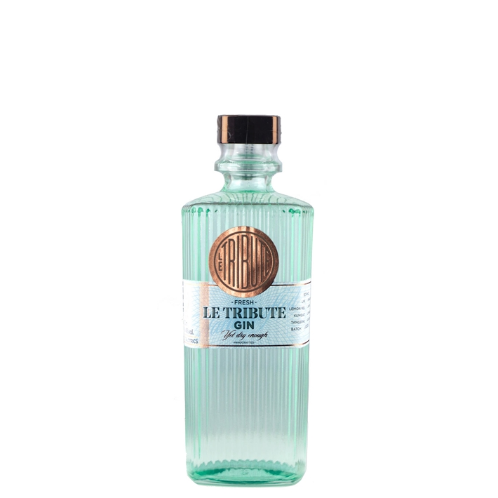 Le Tribute, Dry Gin 43%  0,7