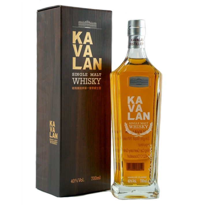 Kavalan, Single Malt Whisky 40%  0,7