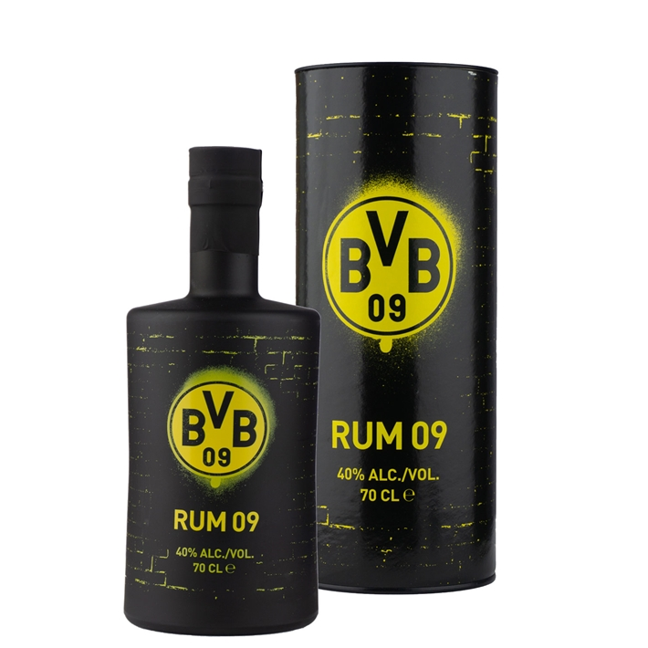 BVB Dortmund Football Rum 40% 0,7